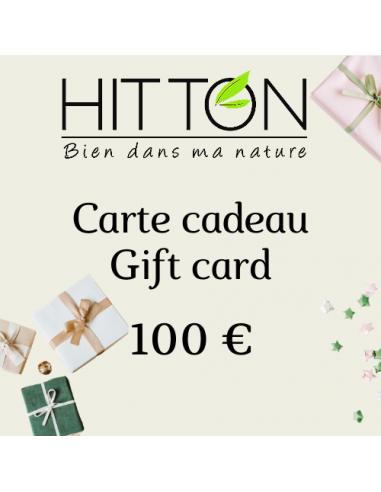 Carte cadeaux Hitton 100€